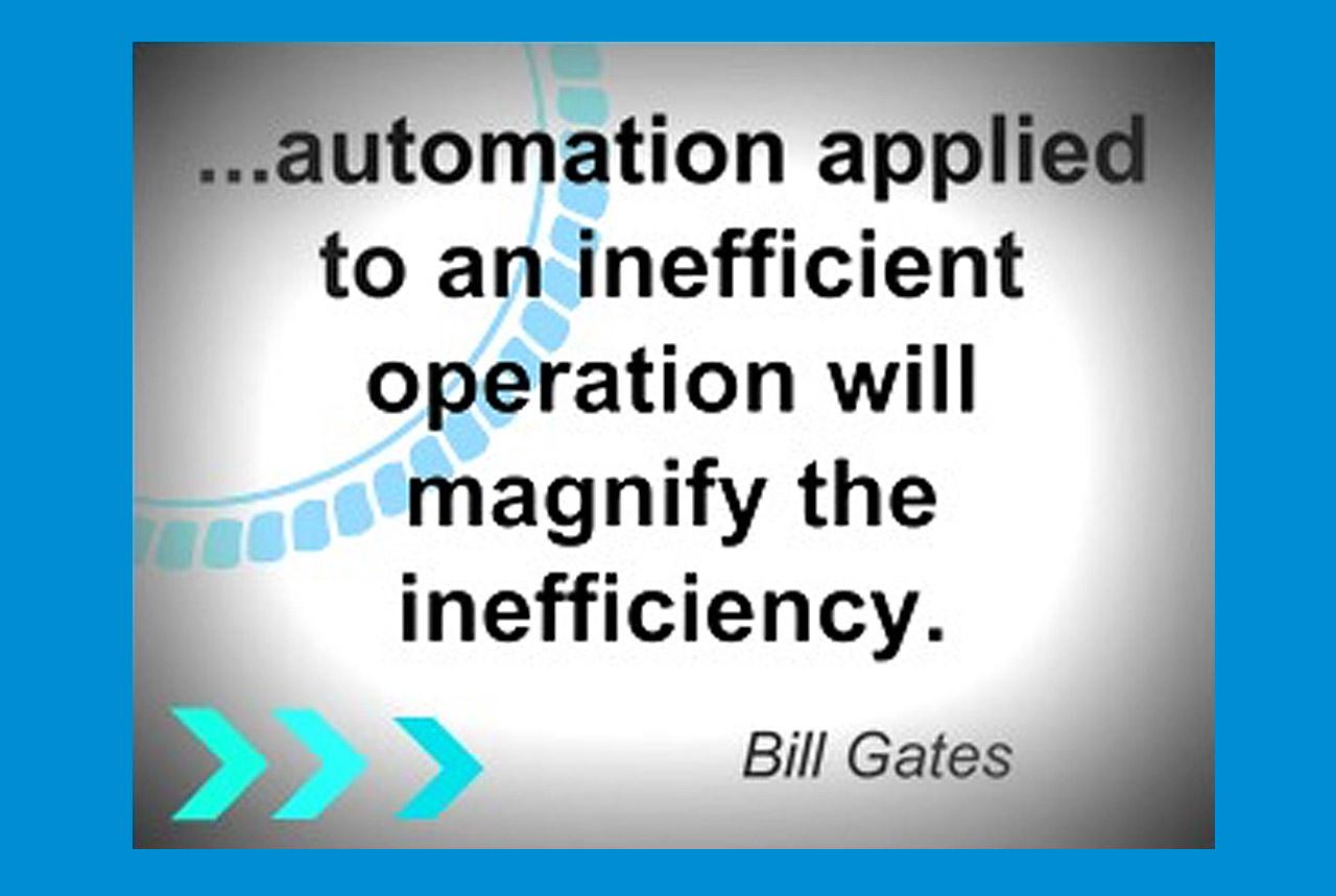 Looking For Inefficiencies In Your Business