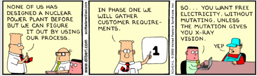 Dilbert Requirements Management