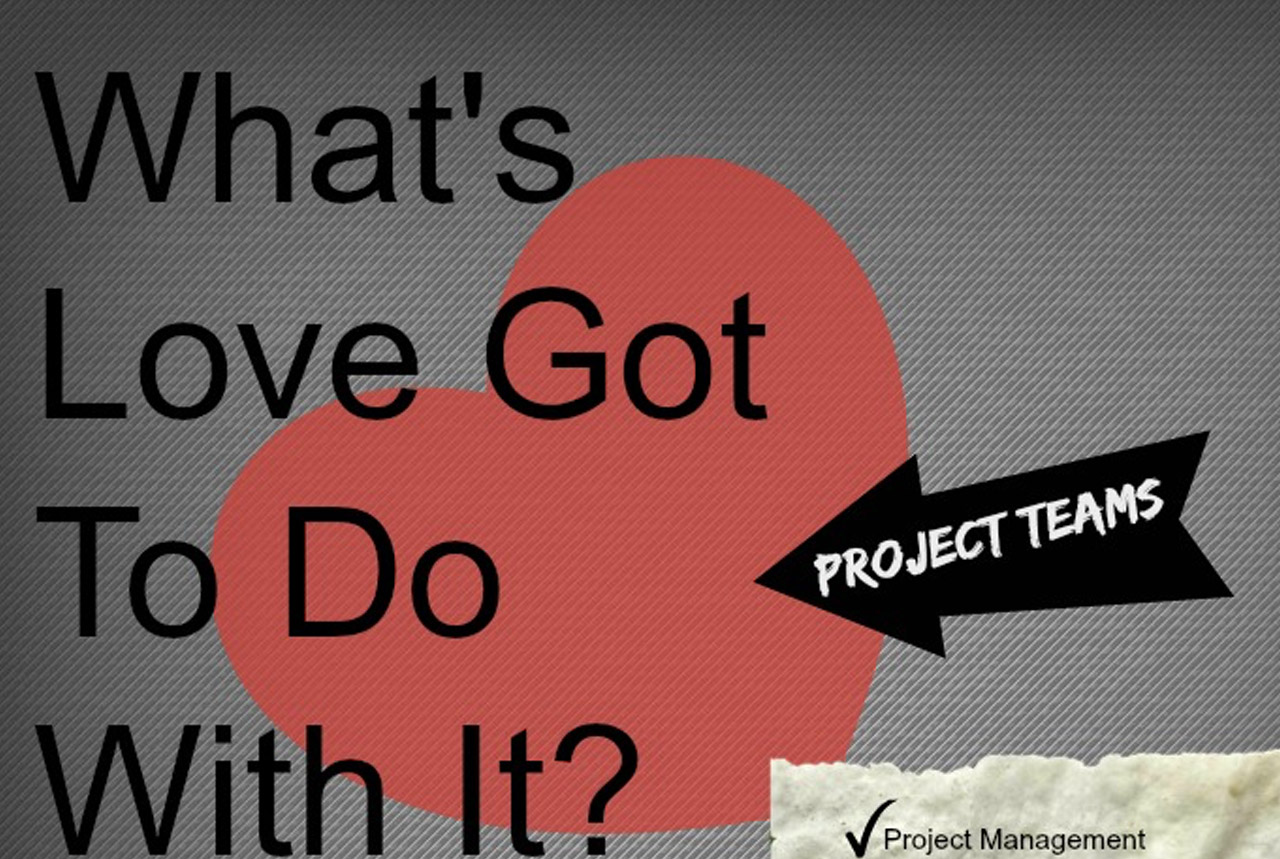 Project Teams – Whats Love Got To Do With It?