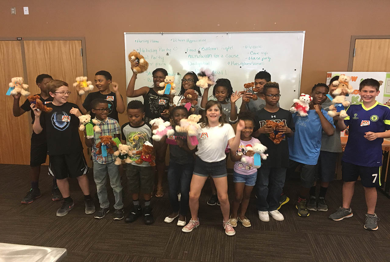 CE Wilson's Grow Kids Program Engages Youth In Series Of Charitable Events